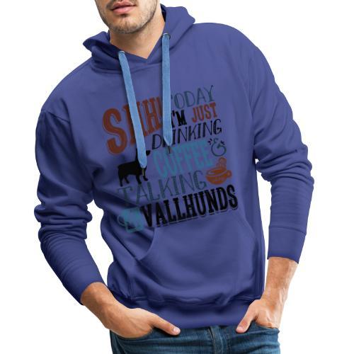 SHH Vallhund Coffee B 4 - Miesten premium-huppari