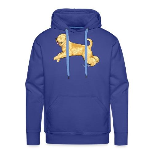 Wheaten Terrier 2 - Men's Premium Hoodie