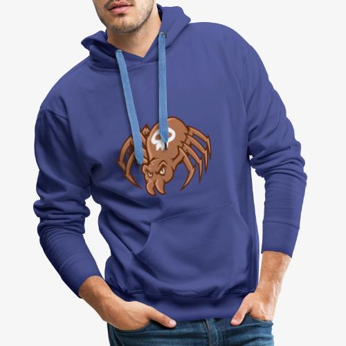 Angry Spider - Miesten premium-huppari