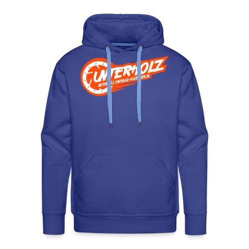 unterholz-downhill-logo - Männer Premium Hoodie