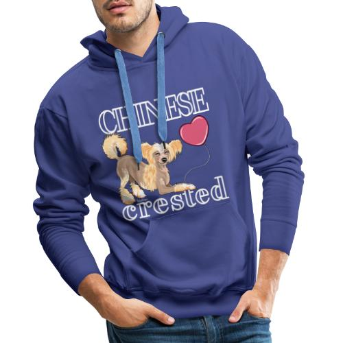 Chinese Crested V - Miesten premium-huppari