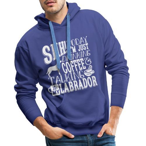 SHH Labrador Coffee 4 - Miesten premium-huppari