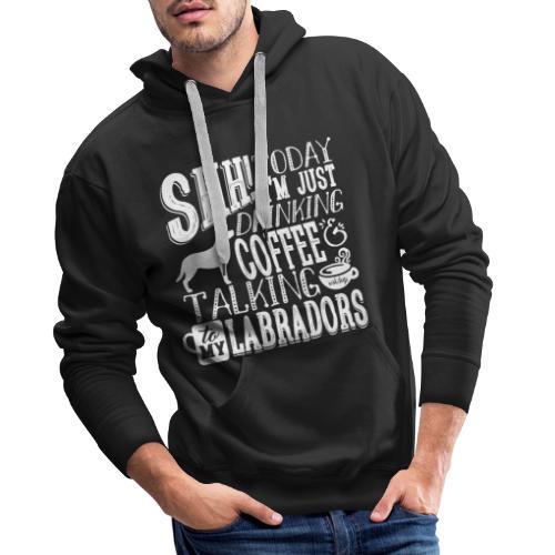 SHH Labrador Coffee 3 - Miesten premium-huppari