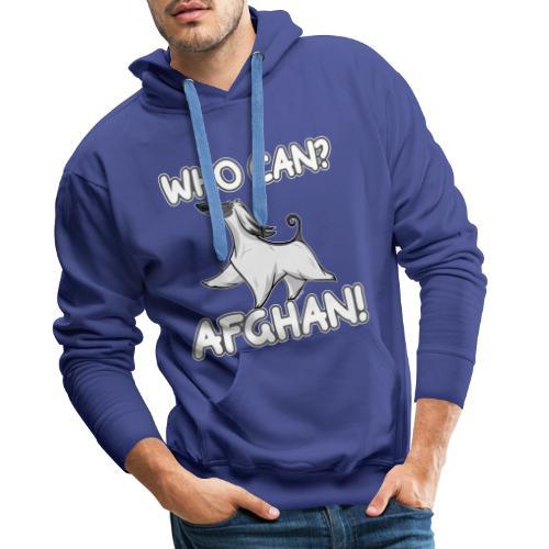 Who Can Afghan III - Miesten premium-huppari