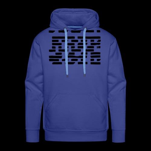 Pattern 1 2 - Männer Premium Hoodie