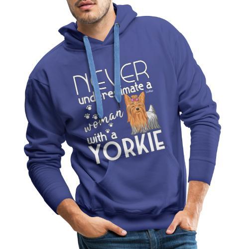 Yorkie Underestimate - Miesten premium-huppari
