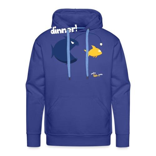 Dinner - Mannen Premium hoodie