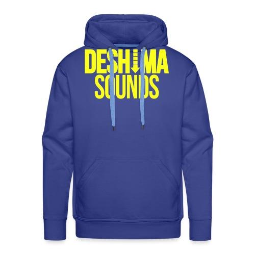 Yellow - Mannen Premium hoodie