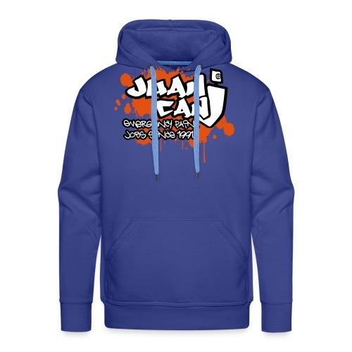 Juan can logo for spreadshirt Orange - Men's Premium Hoodie