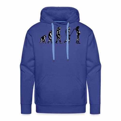 EVOLUTION - Sweat-shirt à capuche Premium pour hommes