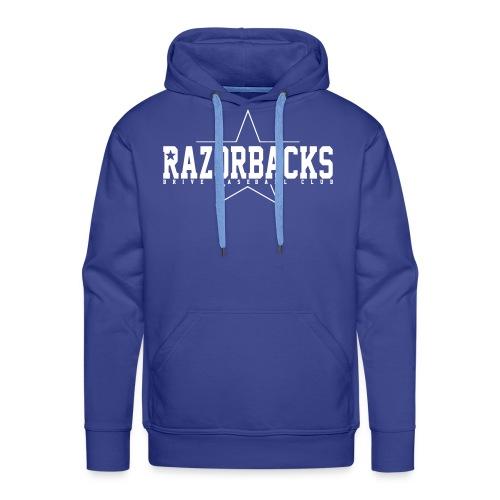 razorbacks toile - Sweat-shirt à capuche Premium pour hommes