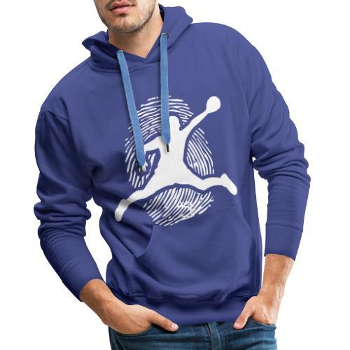 ADN H - Sweat-shirt à capuche Premium pour hommes