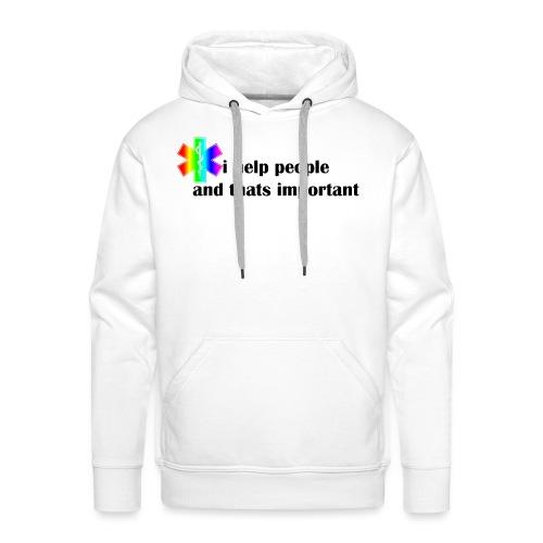 i help people - Mannen Premium hoodie