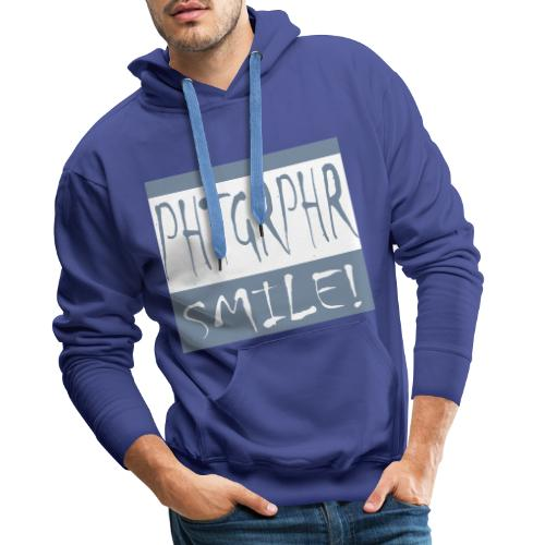 PHTGRPHR smile! - Mannen Premium hoodie
