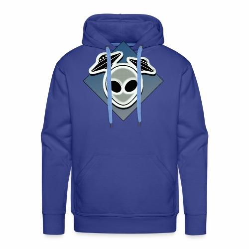 Icone Ufo 3 - Sweat-shirt à capuche Premium pour hommes