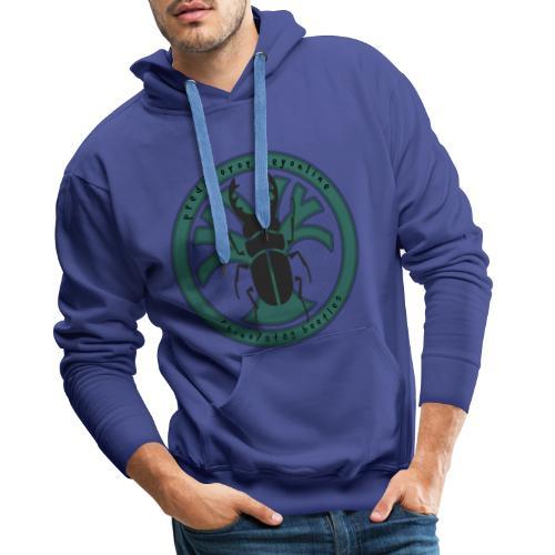 Rhino/Stag Beetle logo - Men's Premium Hoodie