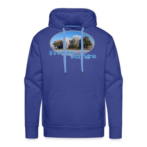 Frozen Nature - Männer Premium Hoodie