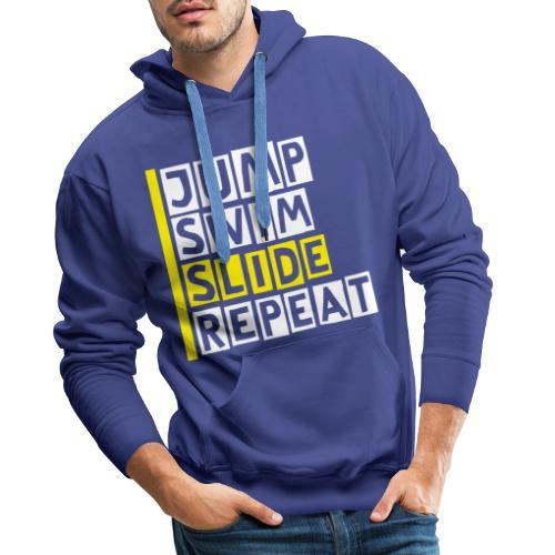 Sea Adventure Men's T-Shirt - Men's Premium Hoodie