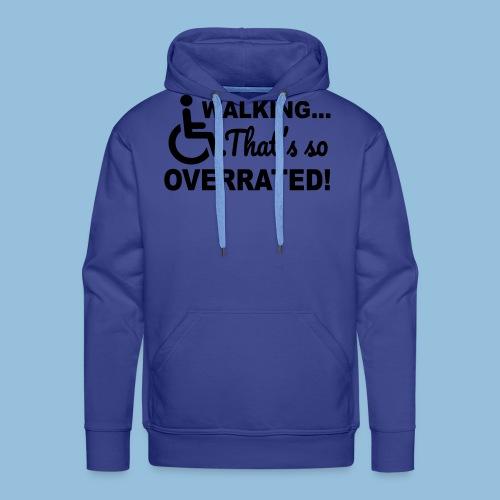 Walkingoverrated1 - Mannen Premium hoodie