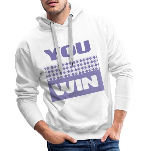 you win 29 - Men's Premium Hoodie