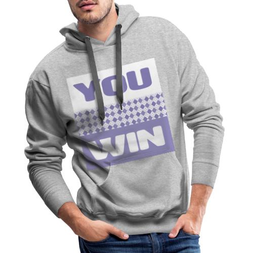 you win 29 - Men's Premium Hoodie
