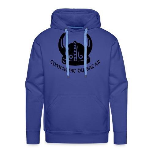 nouvlogo1 vectoris - Sweat-shirt à capuche Premium pour hommes