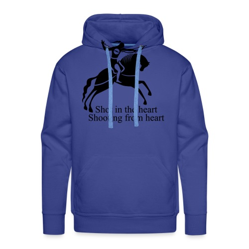 Shot in the Heart - Men's Premium Hoodie