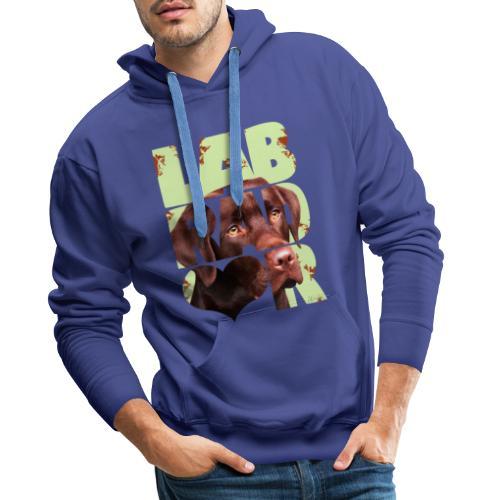 NASSU Labrador Brown II - Miesten premium-huppari