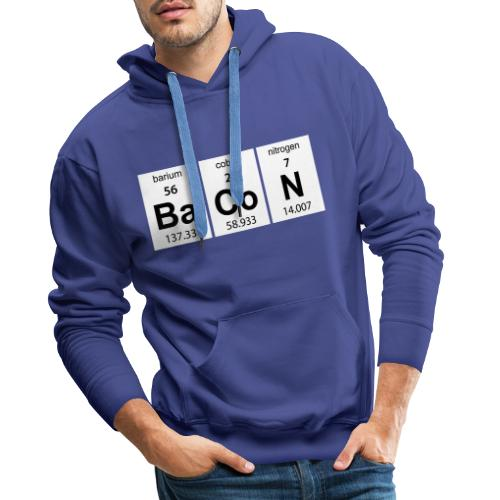 bacon - Mannen Premium hoodie