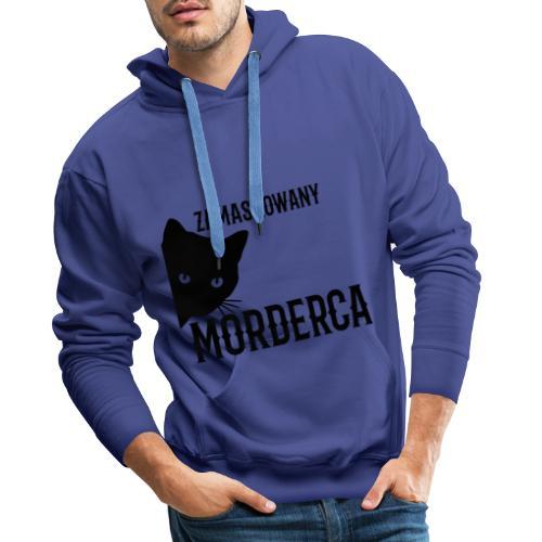 ZAMASKOWANY MORDERCA - Bluza męska Premium z kapturem