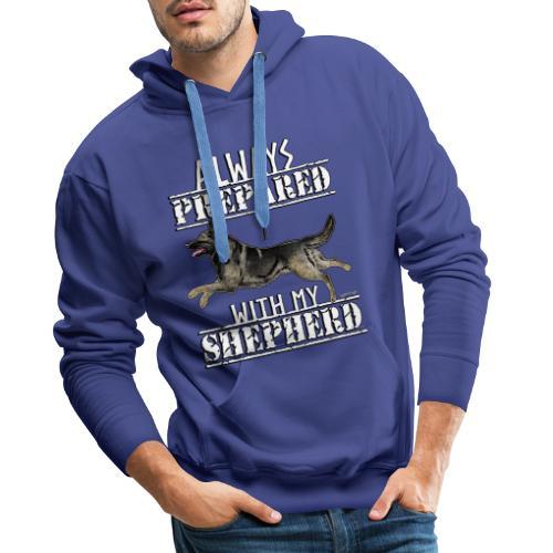 Shepherd Prepared GSD 3 - Miesten premium-huppari