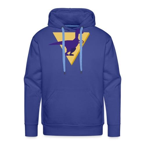 Dinosaure 2 - Sweat-shirt à capuche Premium pour hommes