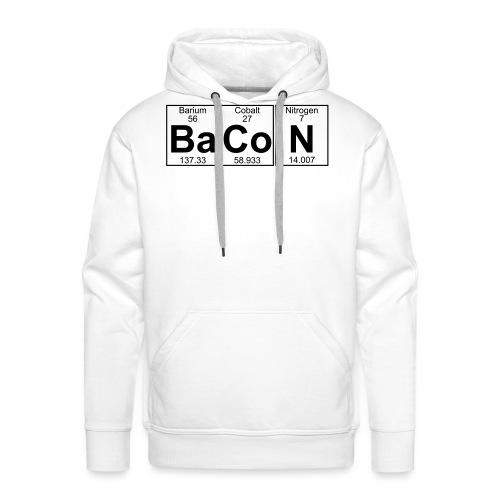 Ba-Co-N (bacon) - Full - Men's Premium Hoodie