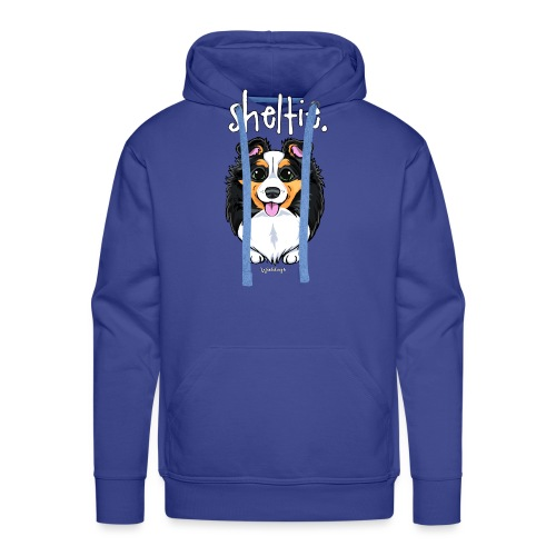 Sheltie Dog Cute 6 - Men's Premium Hoodie