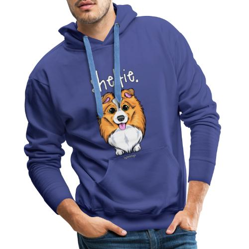 Sheltie Dog Cute 5 - Miesten premium-huppari