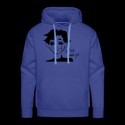 Feeling Vulnerable - Mannen Premium hoodie