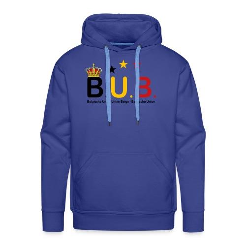 BUB - Sweat-shirt à capuche Premium pour hommes