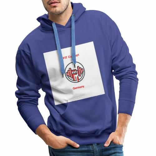FIT Concept Germany Logo+Beschriftung - Männer Premium Hoodie