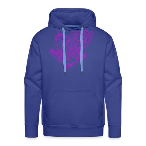 roze - Mannen Premium hoodie