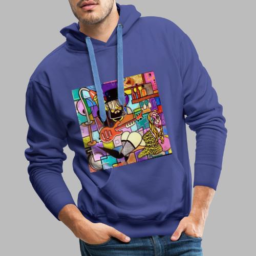 Vunky Vresh Vantastic - Mannen Premium hoodie