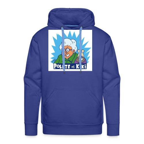 tshirt polete et kiki 1 - Sweat-shirt à capuche Premium pour hommes