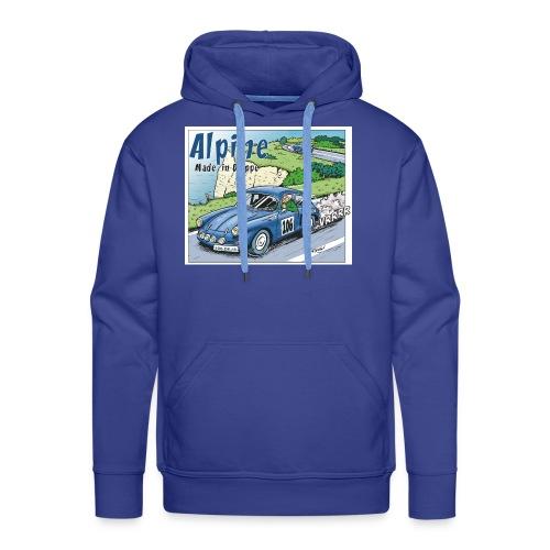 Polete en Alpine 106 - Sweat-shirt à capuche Premium pour hommes