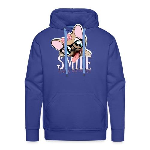 SMILE NAYA - Sweat-shirt à capuche Premium pour hommes