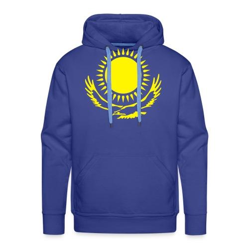 Kasachstan-Wappensymbol - Männer Premium Hoodie