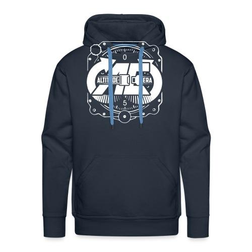 Altitude Era Altimeter Logo - Men's Premium Hoodie