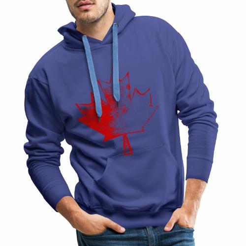 Maple Leaf - Sweat-shirt à capuche Premium pour hommes