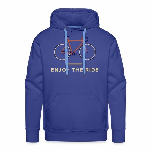 Vintage Racing Bike Retro Cycle - Men's Premium Hoodie