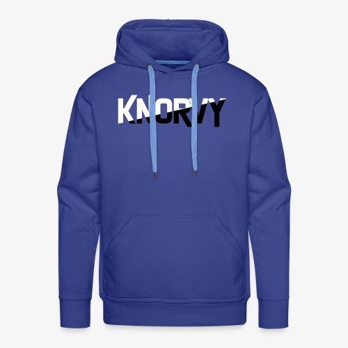 KNORVY - Mannen Premium hoodie
