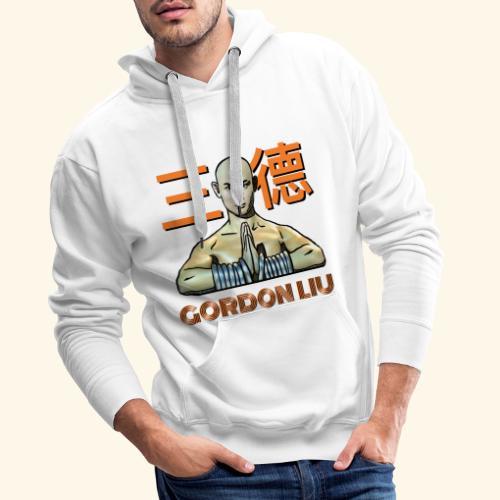 Gordon Liu - San Te Monk (Official) 6 dots - Mannen Premium hoodie