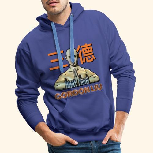 Gordon Liu - San Te Monk (Official) 6 prikker - Herre Premium hættetrøje